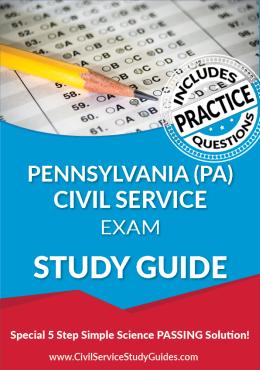 Civil Service Test Preparation Booklets
