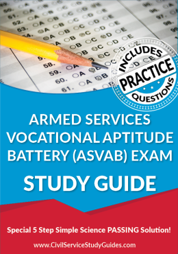 Armed Services Vocational Aptitude Battery Exam Study Guide and Practice Test