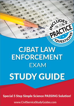 CJBAT - Law Enforcement Exam Study Guide and Practice Test