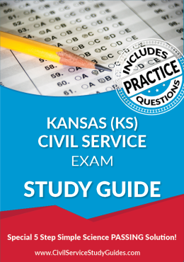 Kansas KS - Civil Service Test Study Guide