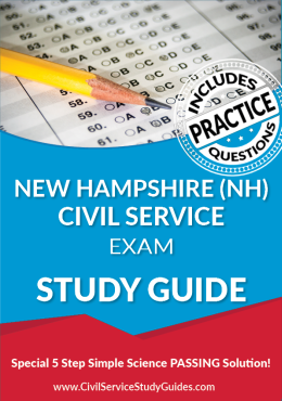 New Hampshire NH - Civil Service Test Study Guide