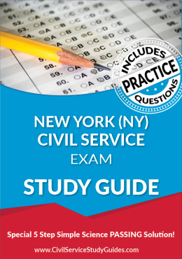 New York NY - Civil Service Test Study Guide