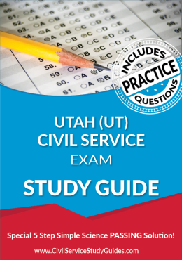 Utah UT - Civil Service Test Study Guide