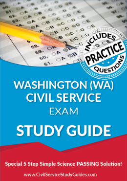 Washington WA Civil Service Exam Study Guide and Practice Test