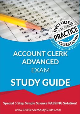 Account Clerk Advanced Exam Study Guide and Practice Test