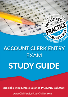 Account Clerk Entry Exam Study Guide and Practice Test
