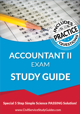 Accountant II Exam Study Guide and Practice Test
