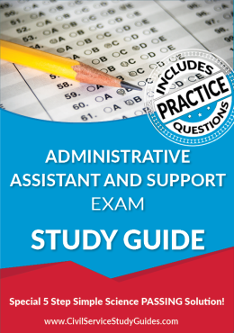 Administrative Assistant and Support Exam Study Guide and Practice Test