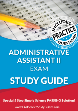 Administrative Assistant II Exam Study Guide and Practice Test