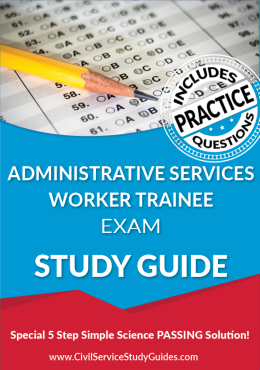 Administrative Services Worker Trainee Exam Study Guide and Practice Test