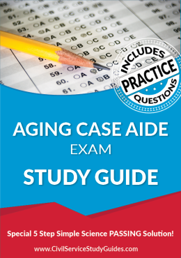 Aging Case Aide Exam Study Guide and Practice Test