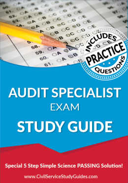 Audit Specialist Exam Study Guide and Practice Test