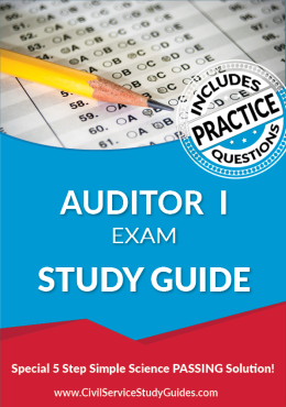 Auditor I Exam Study Guide and Practice Test