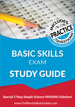 Basic Skills Exam Study Guide and Practice Test