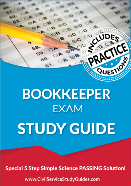 Bookkeeper Exam Study Guide and Practice Test