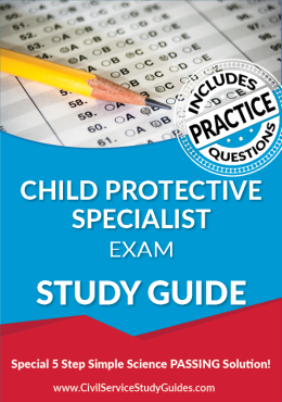 Child Protective Specialist Test