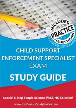 Child Support Enforcement Specialist Exam Study Guide and Practice Test