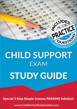 Child Support Examination Test