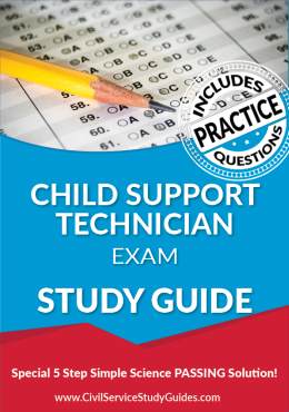 Child Support Technician exam study guide