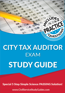 City Tax Auditor Exam Study Guide and Practice Test