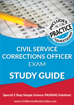 Civil Service Corrections Officer Exam Study Guide and Practice Test