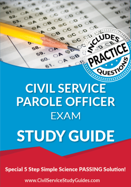 Civil Service Parole Officer test