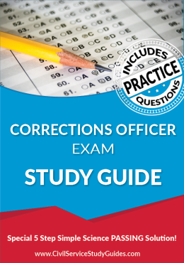 Corrections Officer Exam Study Guide and Practice Test