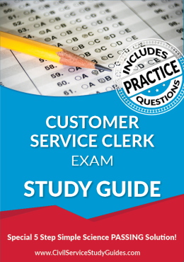 Customer Service Clerk Exam Study Guide and Practice Test
