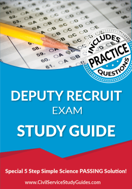 Deputy Recruit Exam Study Guide and Practice Test