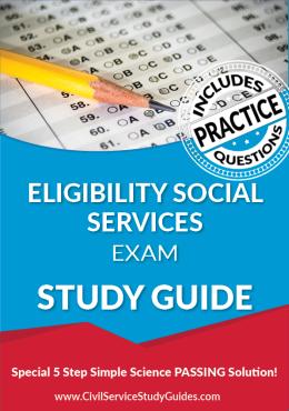 Eligibility Social Services Exam Study Guide