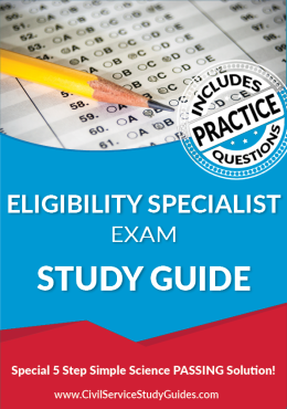 Eligibility Specialist Exam Study Guide and Practice Test