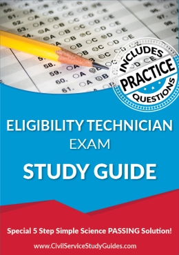 Eligibility Technician Exam Study Guide