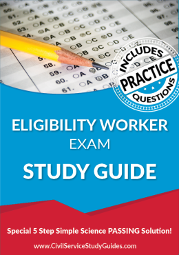 Eligibility Worker Exam Study Guide and Practice Test
