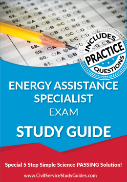 Energy Assistance Specialist Examination Study Guide
