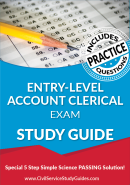 Entry-Level Account Clerical Exam Study Guide and Practice Test
