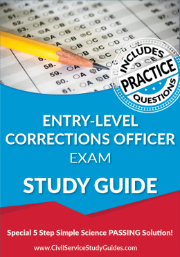 Entry-Level Corrections Officer Exam Study Guide and Practice Test