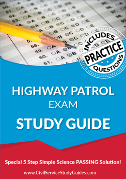 Highway Patrol Exam Study Guide and Practice Test