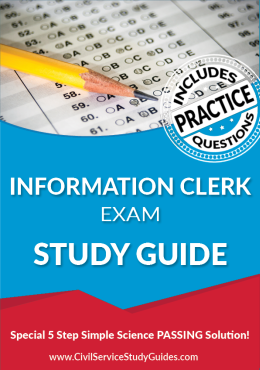 Information Clerk Exam Study Guide and Practice Test