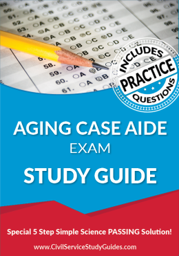 Merit System Aging Case Aide Exam Study Guide and Practice Test