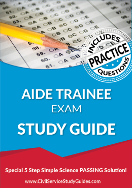Merit System Aid Trainee Exam Study Guide