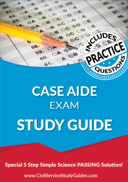 Merit System Case Aide Exam Study Guide and Practice Test