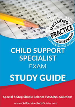 Merit System Child Support Specialist Exam Study Guide and Practice Test