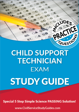 Merit System Child Support Technician Exam Study Guide and Practice Test