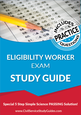 Merit System Eligibility Worker Exam Study Guide