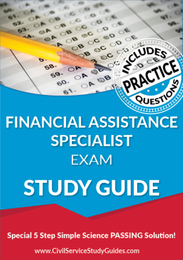 Merit System Financial Assistance Specialist Exam Study Guide and Practice Test