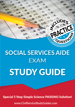 Merit System Social Service Aide Exam Study Guide and Practice Test