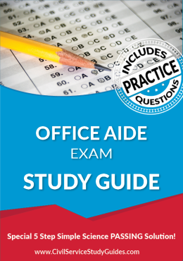 Office Aide Exam Study Guide and Practice Test