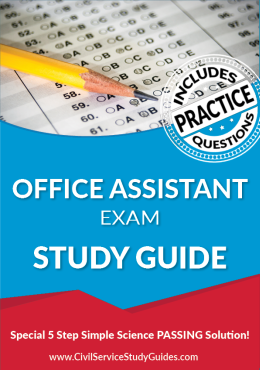 Office Assistant Test Study Guide and Practice Test