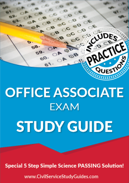 Office Associate Test Study Guide and Practice Test