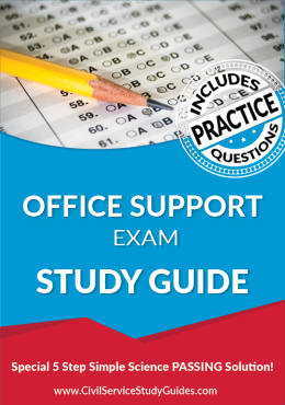 Office Support Exam Study Guide and Practice Test